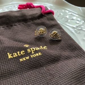 Kate Spade Tres Chic studs